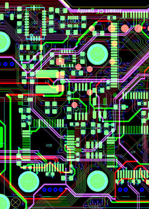 Multilayer PCB ontwerp
