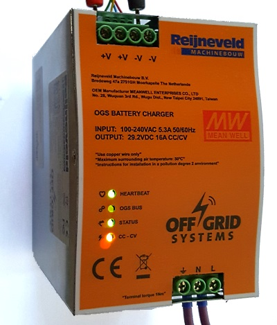 29V/16A Battery charger